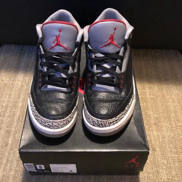 "87febeaf7d11 Jordan Other - Air Jordan 3 ""Black Cement"""